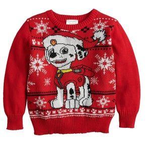 Paw Patrol Marshall Christmas Sweater